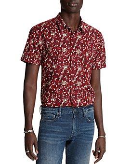 John Varvatos Star USA - Jasper Cotton Printed Regular Fit Shirt