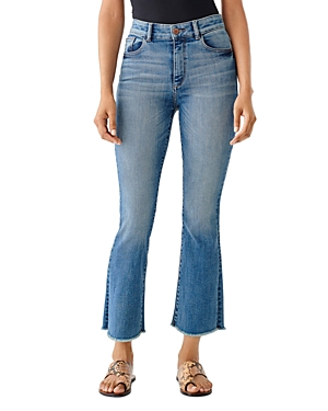 1961 Bridget High-Rise Cropped Bootcut Jeans in Hanover