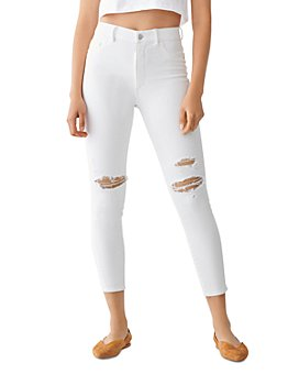 DL1961 - Farrow High-Rise Cropped Skinny Jeans in Bodie