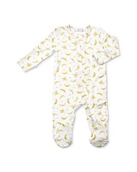 Angel Dear - Unisex Banana Print Footie - Baby