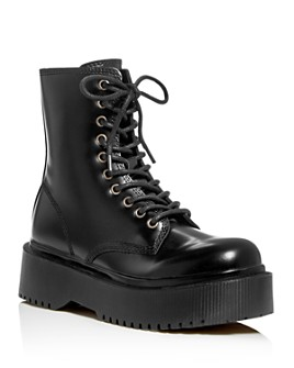 Jeffrey Campbell - Women's Platform Combat Boots
