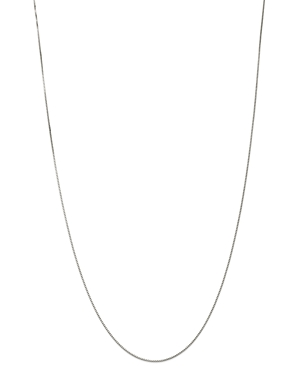 Bloomingdale's Box Link Chain Necklace in 14K White Gold - 100% Exclusive