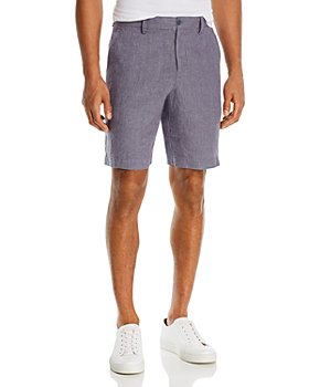 The Men's Store at Bloomingdale's - Linen Micro-Houndstooth Sport Shorts - 100% Exclusive