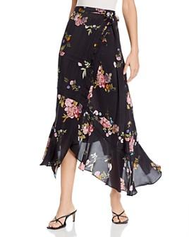 Preen Line - Kalifa Floral-Print Skirt
