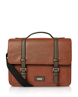 Ted Baker - ADVNTR Textured Faux Leather Satchel