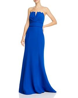 Aidan Mattox - Strapless Mermaid Gown - 100% Exclusive