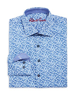 Robert Graham - Boys' Reynolds Dress Shirt - Big Kid