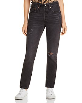 Levi's - 501 Ripped Skinny Jeans