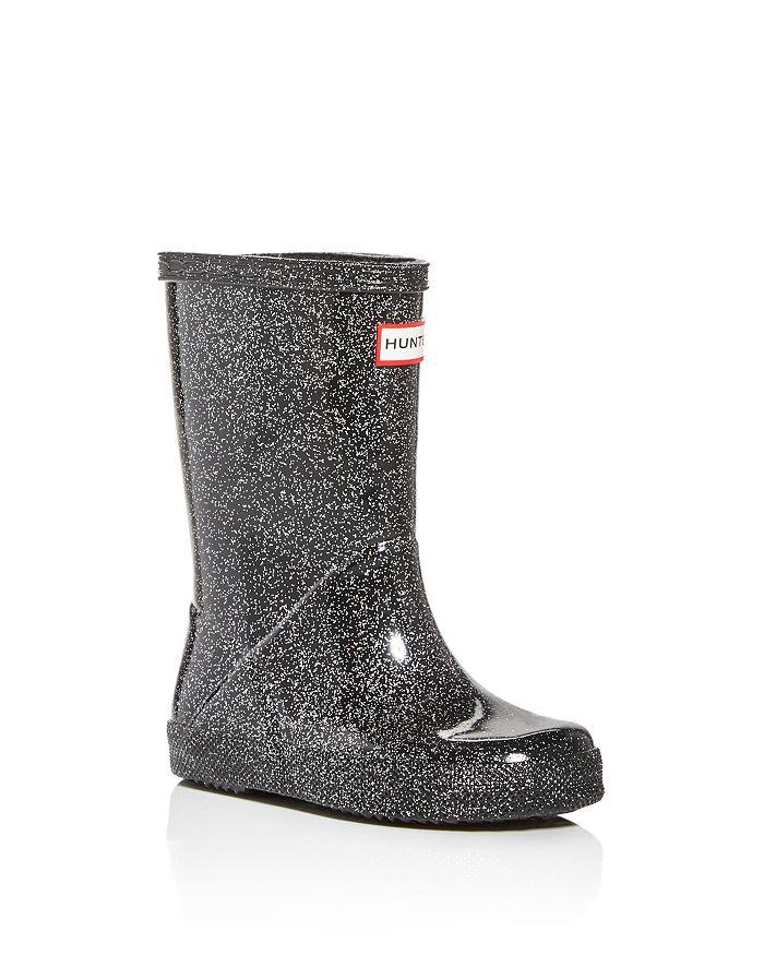 Hunter - Unisex First Classic Starcloud Glitter Rain Boots - Walker, Toddler