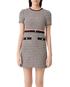 Maje - Rivi Tweed Mini Dress