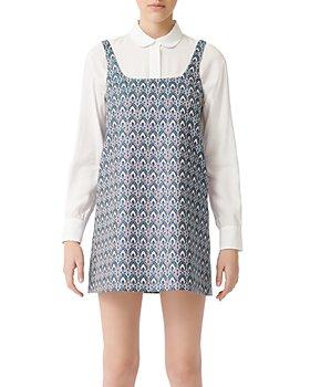 Maje - Rako Jacquard Shift Dress