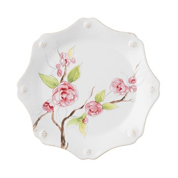 Juliska - Berry & Thread Floral Sketch Camellia Dessert/Salad Plate