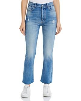 Boyish - The Brady High Rise Crop Flare Jeans in Mercy Island