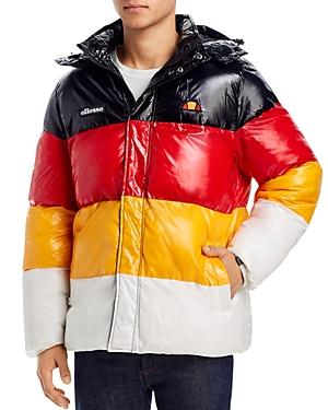 ellesse Alme Color-Block Regular Fit Puffer Jacket