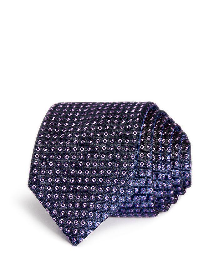 HUGO - Florette Grid Skinny Tie