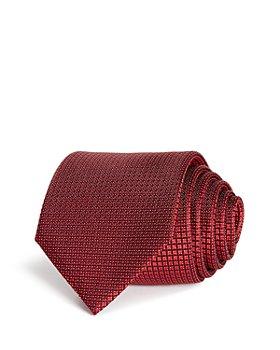 BOSS - Mini Grid Silk Classic Tie