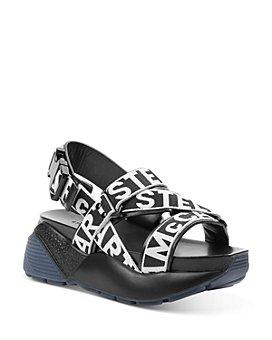Stella McCartney - Women's Logo Strap Platform Sandals