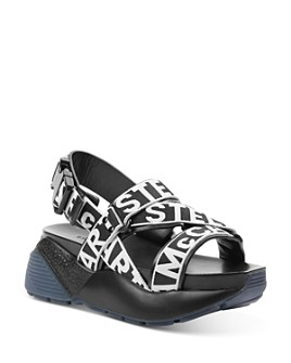 Stella McCartney - Women's Logo Strap Platform Sandals