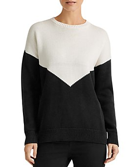 Ralph Lauren - Long-Sleeve Color-Block Sweater