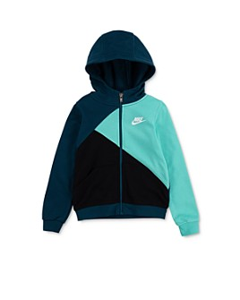 Nike - Boys' Amplify Colorblocked Hooded Jacket - Little Kid