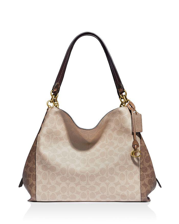 COACH - Dalton 31 Mixed Media Shoulder Bag