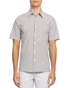 Theory IRVING GRANADA SLIM FIT SHORT SLEEVE BUTTON-DOWN SHIRT