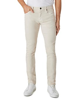 J Brand - Tyler Slim Fit Jeans in Off White