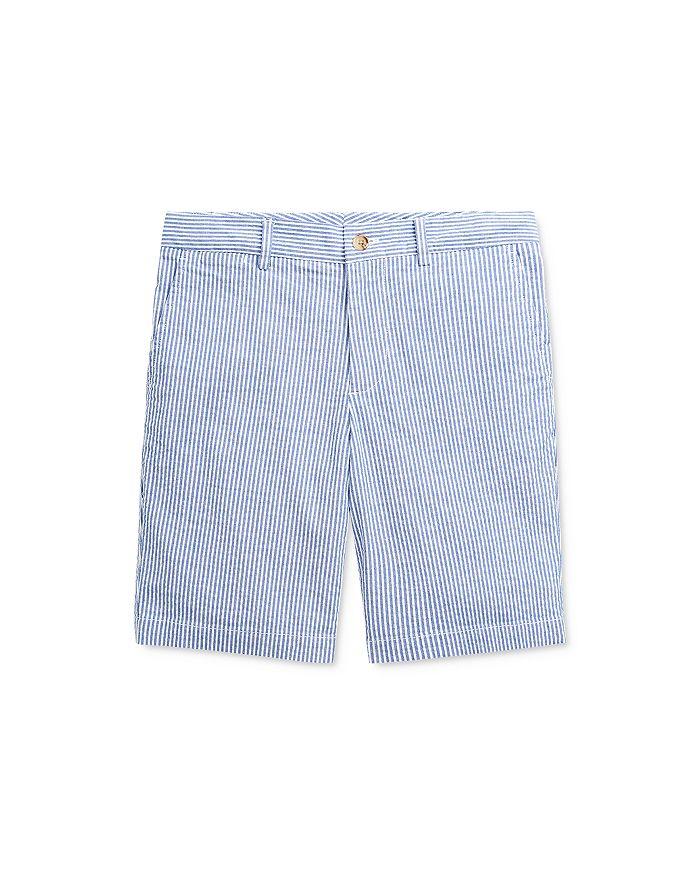 Ralph Lauren - Boys' Slim Cotton-Stretch Seersucker Shorts - Big Kid