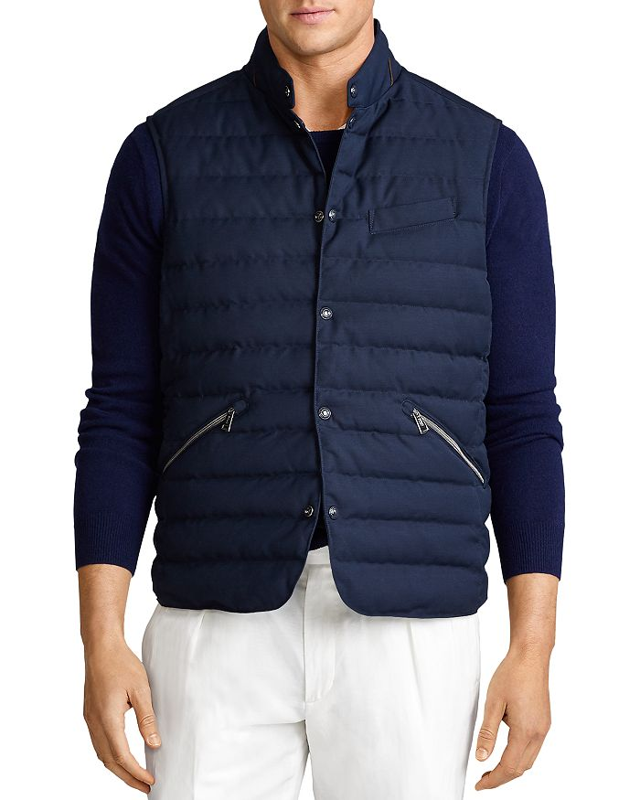 Polo Ralph Lauren - Walbrook Reversible Quilted Down Vest