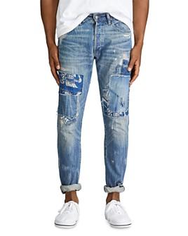 Polo Ralph Lauren - Sullivan Distressed Slim Fit Jeans