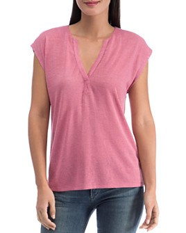 B Collection by Bobeau - Holland Pleat-Back Knit Top