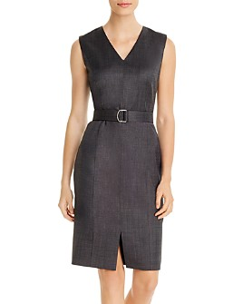 BOSS - Decapolis Belted Sheath Dress