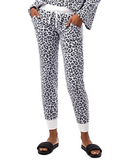 ALTERNATIVE - Eco Teddy Animal-Print Jogger Sweatpants