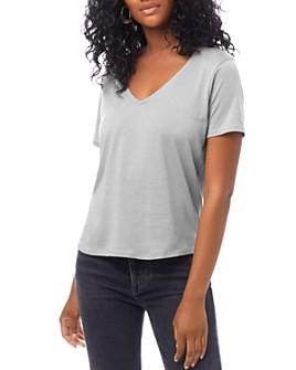 ALTERNATIVE - V-Neck T-Shirt