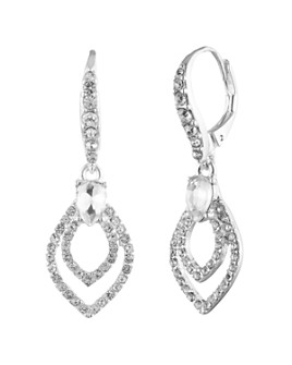 Ralph Lauren - Crystal Pavé Teardrop Drop Earrings