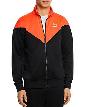 PUMA - Iconic MCS Color-Blocked Regular Fit Full-Zip Track Jacket