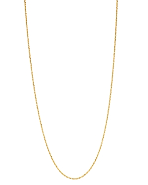 Bloomingdale's Solid Glitter Chain Necklace in 14K Yellow Gold - 100% Exclusive
