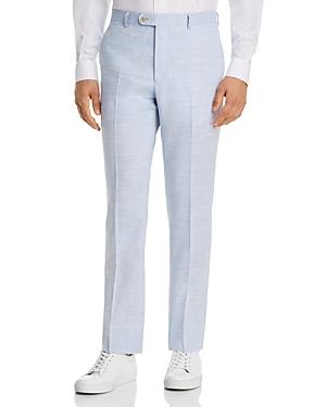 John Varvatos Star Usa Street Linen & Wool Slim Fit Suit Pants-Men