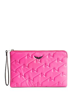 Zadig & Voltaire - Quilted Leather Wallet-On-A-Strap