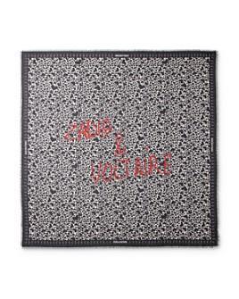 Zadig & Voltaire - Graffiti-Graphic Heart-Print Cotton Scarf