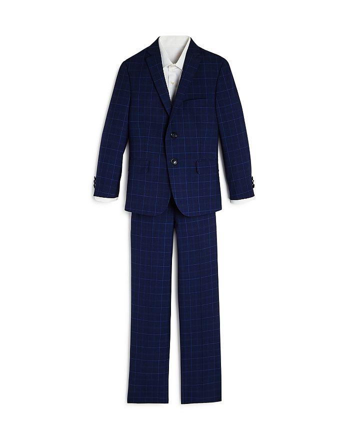 Tallia - Boys' Plaid Suit - Big Kid