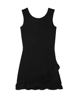 AQUA - Girls' Ruffle Hem Dress, Big Kid - 100% Exclusive