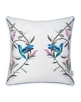 "Ted Baker - Highgrove Mint Decorative Pillow, 16"" x 16"""
