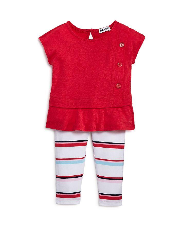 Splendid - Girls' Top & Striped Leggings Set - Baby