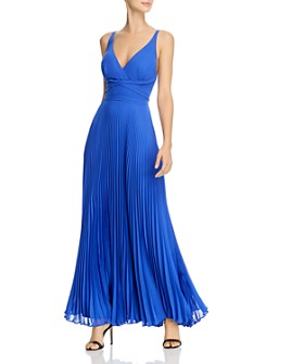 Laundry by Shelli Segal - Pleated Chiffon Gown