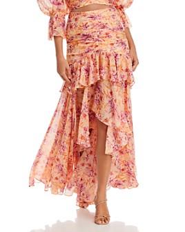 Amur - Fie Ruched Maxi Skirt