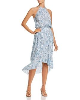 Parker - Kyra Floral Silk Midi Dress