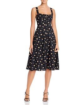WeWoreWhat - Harper Floral Print Midi Dress