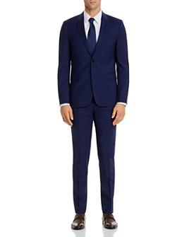 HUGO - Hets/Astian Plaid Extra Slim Fit Suit Separates