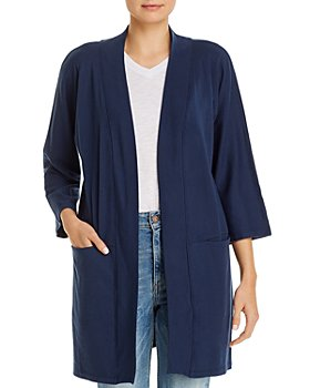 Three Dots - Open-Front Cardigan